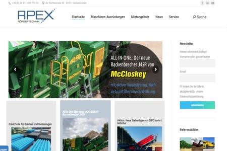 Apex Fördertechnik - Shopsysteme24